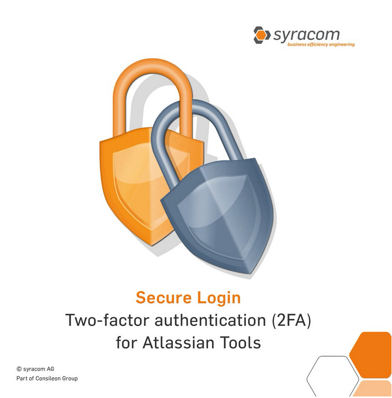 Syracom's line of 2FA products for Atlassian apps
