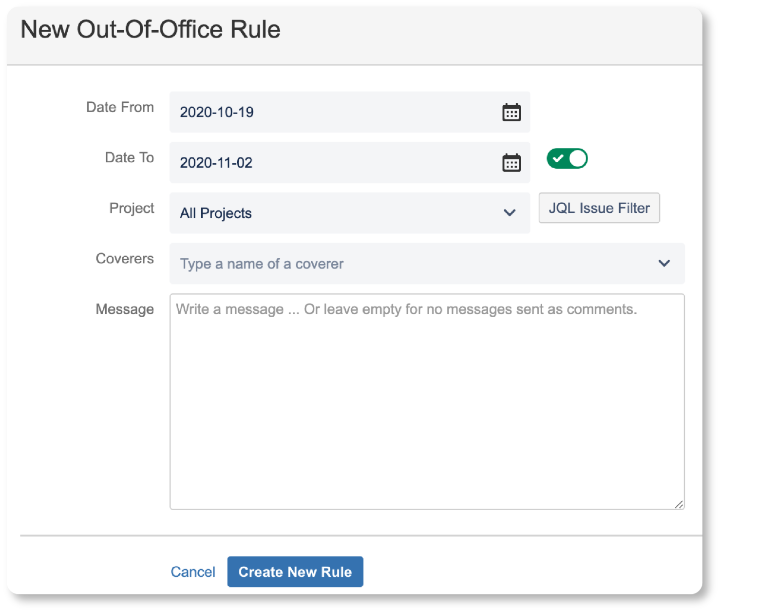 Automatic Assignment Rule with Out of Office