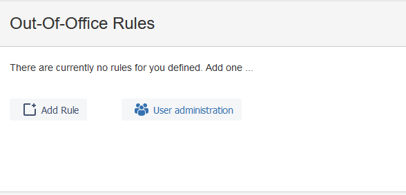 Admin UI of Out of Office Assistant for Jira Cloud